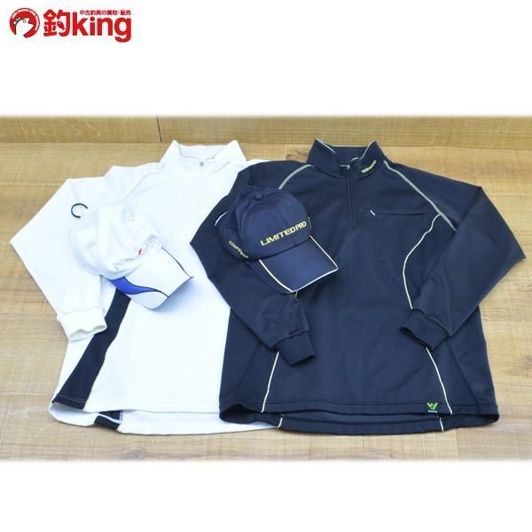 シマノ ジップシャツ SH-012H Lサイズ ゴアテックス レインキャップ CA-111F CA-143G フィッシングウェア 4点セット/M258M フィッシングキャップ|tsuriking