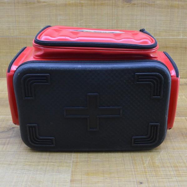 がまかつ ハイブリッド成型タックルバッグ20 GB-315/M275L 磯バック バッカン タックルボックス 美品|tsuriking|02