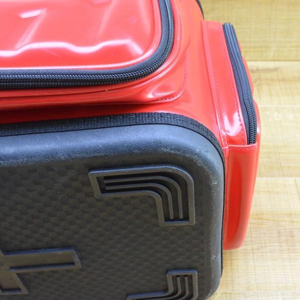 がまかつ ハイブリッド成型タックルバッグ20 GB-315/M275L 磯バック バッカン タックルボックス 美品|tsuriking|04
