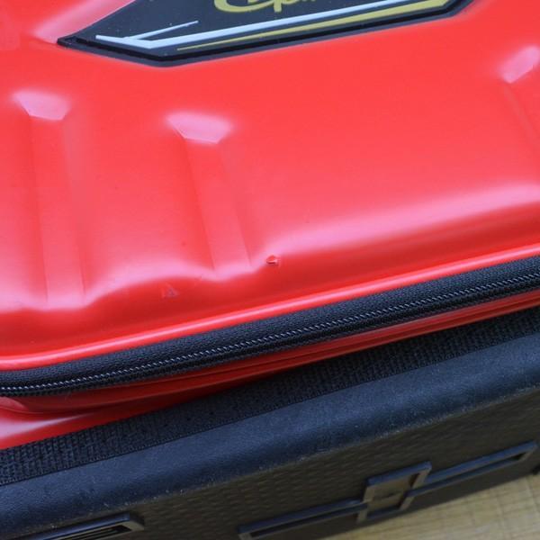 がまかつ ハイブリッド成型タックルバッグ20 GB-315/M275L 磯バック バッカン タックルボックス 美品|tsuriking|05