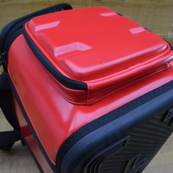 がまかつ ハイブリッド成型タックルバッグ20 GB-315/M275L 磯バック バッカン タックルボックス 美品|tsuriking|08