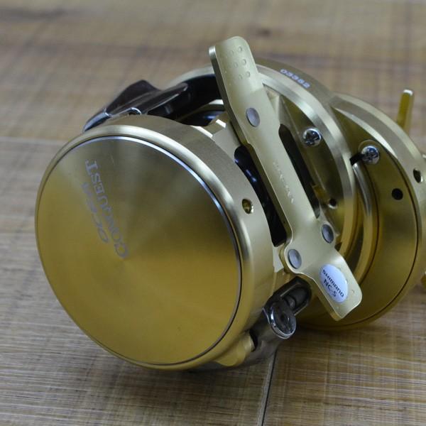 シマノ 15オシアコンクエスト 200PG/M252M ベイトリール ライトジギング タイラバ オフショアリール美品|tsuriking|03