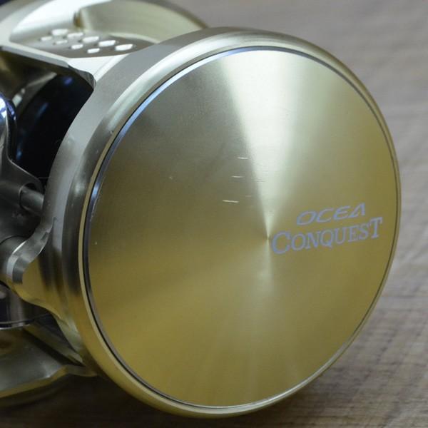 シマノ 15オシアコンクエスト 200PG/M252M ベイトリール ライトジギング タイラバ オフショアリール美品|tsuriking|04