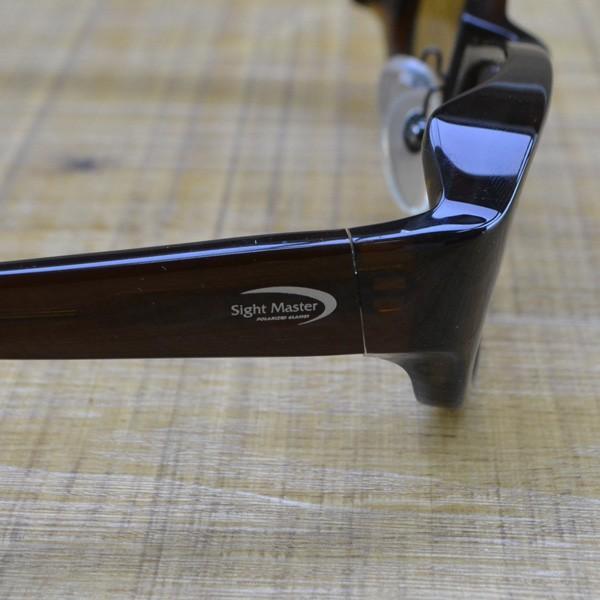 ティムコ サイトマスター アウトライダーブラウン スーパーライトブラウン/M343M 美品 偏光グラス tsuriking 04
