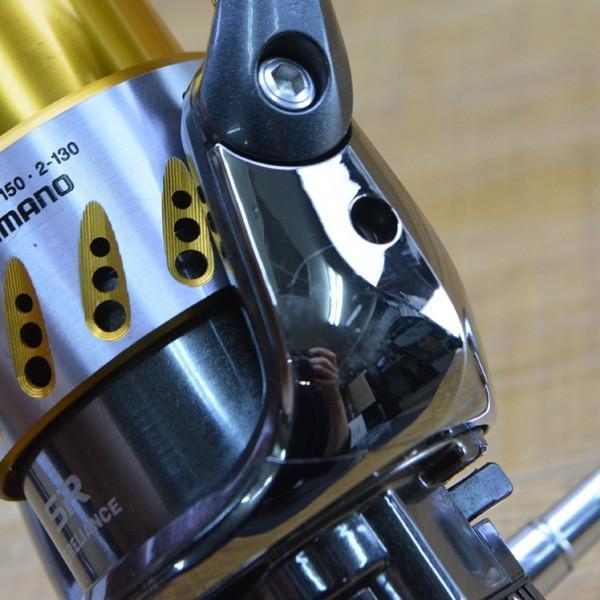 シマノ 07ステラ 4000S アルミハンドル 夢屋バランサー付き/M344M 美品 スピニングリール|tsuriking|06
