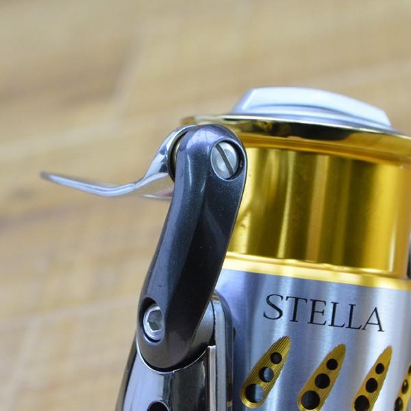 シマノ 07ステラ 4000S アルミハンドル 夢屋バランサー付き/M344M 美品 スピニングリール|tsuriking|07