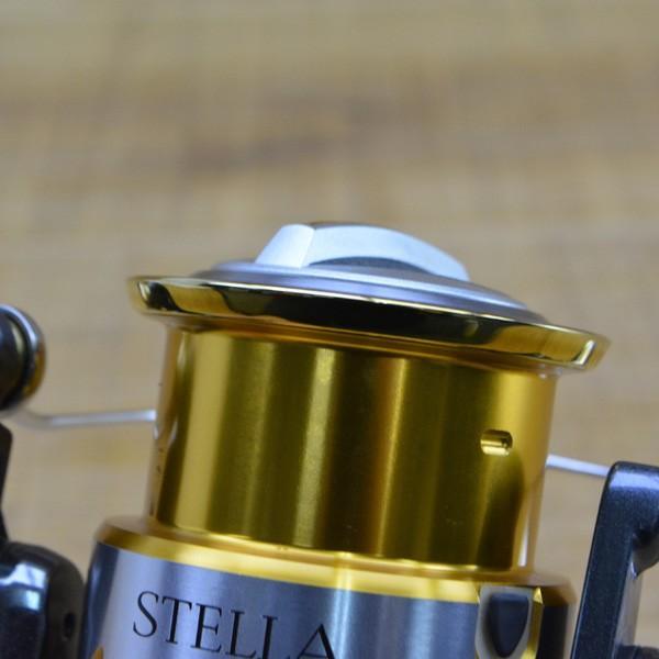 シマノ 07ステラ 4000S アルミハンドル 夢屋バランサー付き/M344M 美品 スピニングリール|tsuriking|08