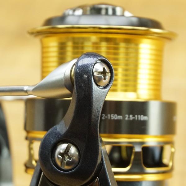 ダイワ 16プレイソ 2000H-LBD/M440M レバーブレーキリール 美品|tsuriking|07