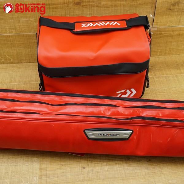 ダイワ ヘラバッグ LT30(A)RD プロバイザー ロッドケース  ヘラ釣りセット/M481Y 美品 タックルバッグ|tsuriking