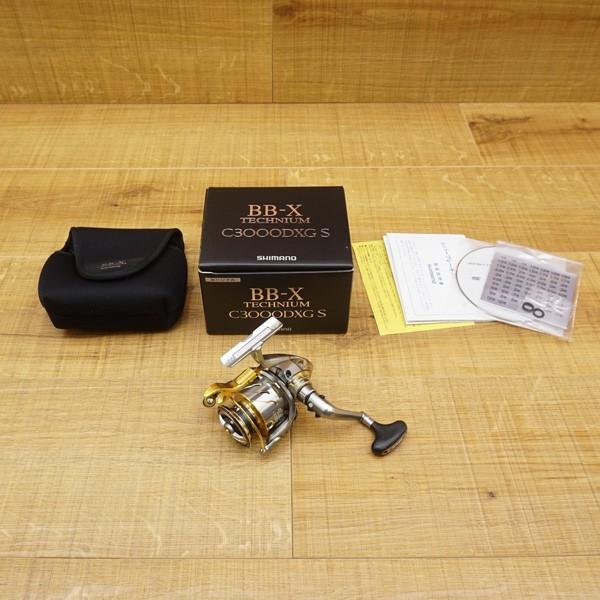 シマノ 15BB-X テクニウム C3000DXG S 左/R300M レバーブレーキリール 未使用品 tsuriking 10