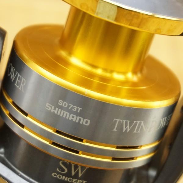 シマノ 09ツインパワーSW 12000HG/R303M 大型 スピニングリール|tsuriking|07