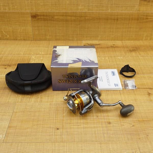 シマノ 09ツインパワーSW 12000HG/R303M 大型 スピニングリール|tsuriking|10
