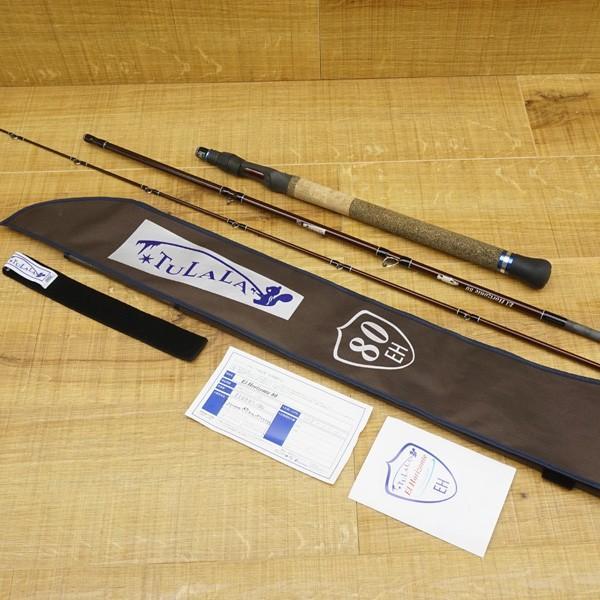 ツララ エルホリゾンテ 80/R324L ルアーロッド ビックベイト 美品 tsuriking 10