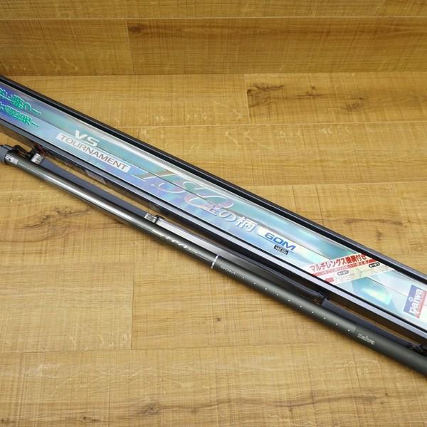 ダイワ VS トーナメント ISO 玉の柄 60M/R405L 極上美品 タモの柄 tsuriking 10