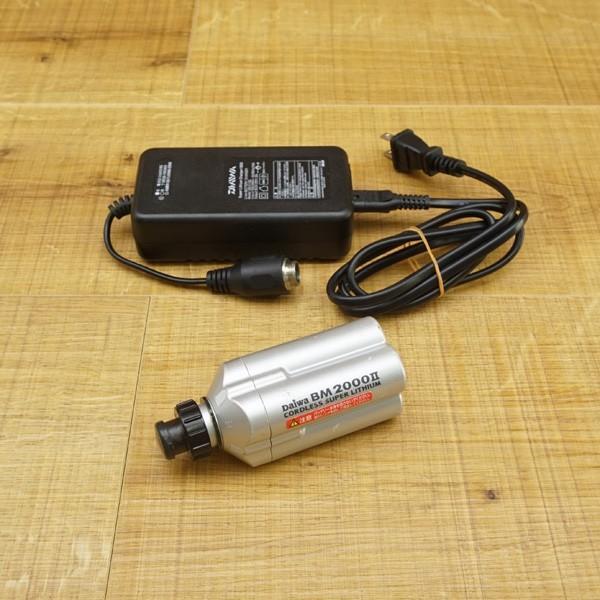 ダイワ スーパーリチウム BM2000II 充電器付/R450M バッテリー tsuriking 10