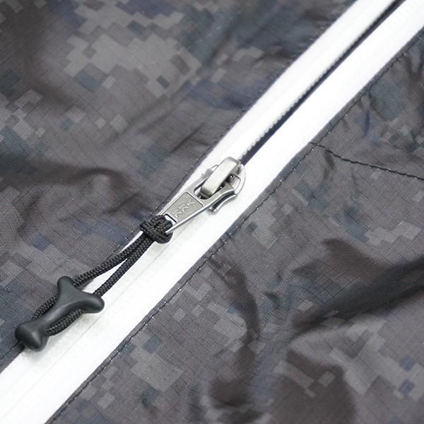 パズデザイン BS ウォームアップ レインスーツII SBR-035 ブラックカモ Mサイズ/R509M 未使用品 ウェア|tsuriking|06