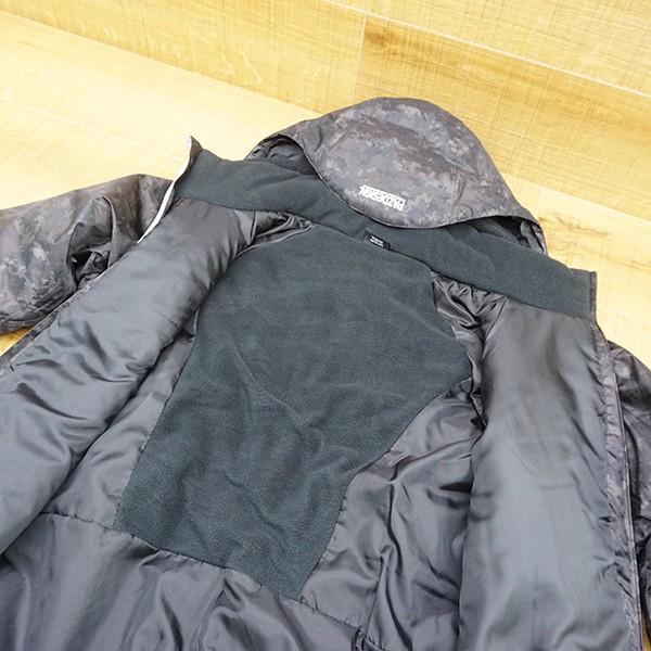パズデザイン BS ウォームアップ レインスーツII SBR-035 ブラックカモ Mサイズ/R509M 未使用品 ウェア|tsuriking|07
