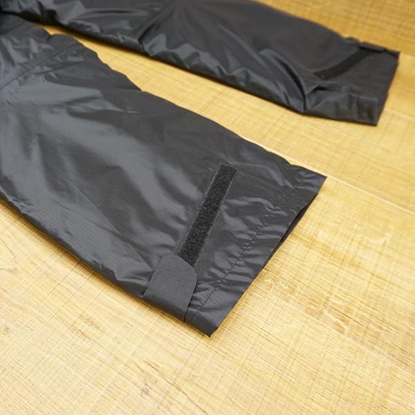 パズデザイン BS ウォームアップ レインスーツII SBR-035 ブラックカモ Mサイズ/R509M 未使用品 ウェア|tsuriking|10