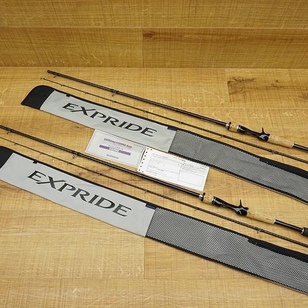 シマノ エクスプライド 1610M-2、エクスプライド 168MH-2 2本セット/R513L バスロッド|tsuriking|10