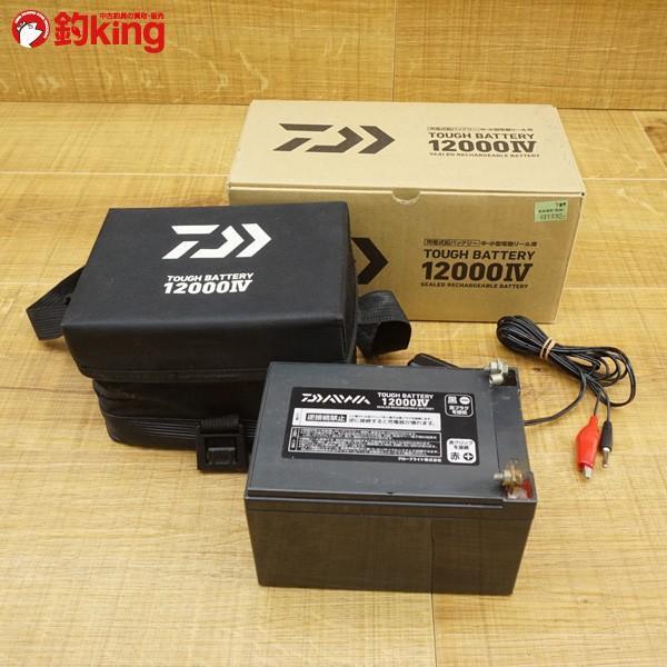 ダイワ 充電式鉛バッテリー タフバッテリー 12000IV  /S083M 電動リール バッテリー|tsuriking