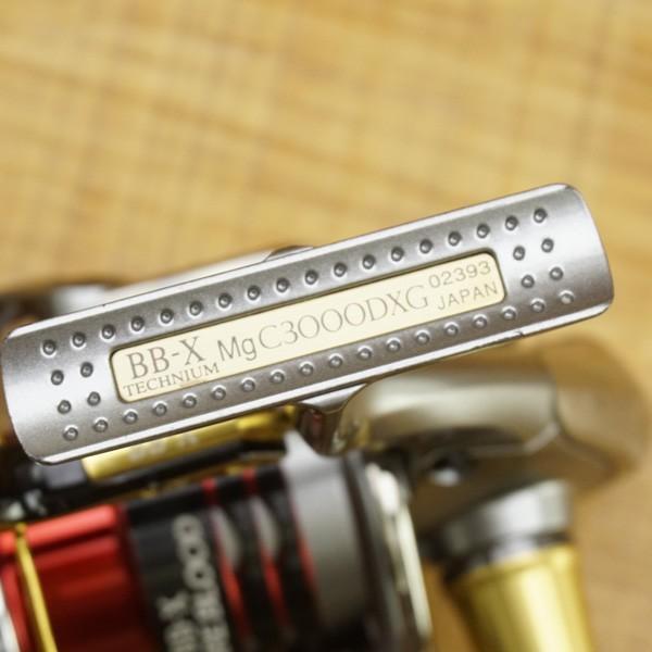 シマノ 09BB-X テクニウムMg C3000DXG 夢屋 ファイアブラッド1500DA 2000Dスプール付き/U483M スピニングリール|tsuriking|03