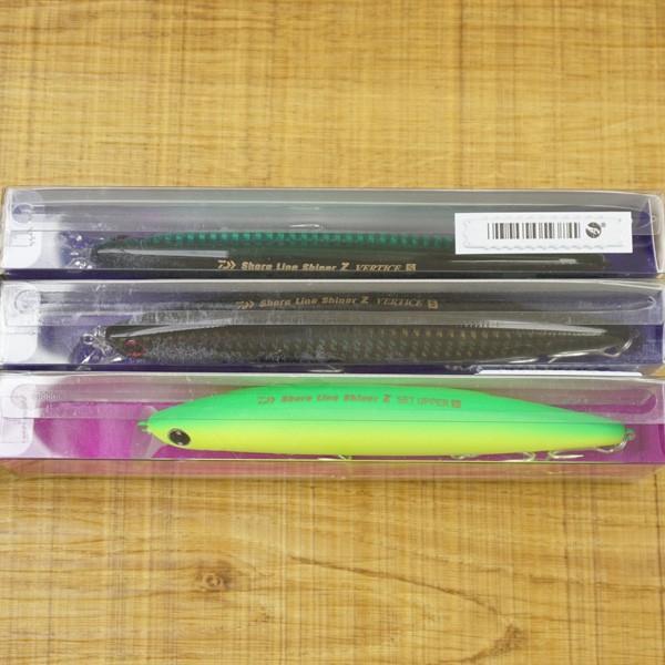 ダイワ シーバス ルアーセット ショアラインシャイナーZ バーティス 140S、セットアッパー125S 、3個セット/ST1706S 未使用品 ルアーSET tsuriking 07