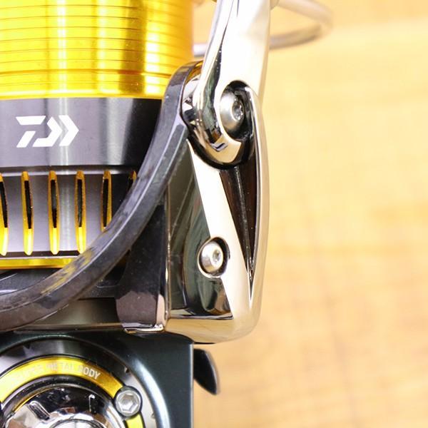 ダイワ 16セルテート 2508PE ZPIノブ付き/ X110M 美品 DAIWA スピニングリール 淡水 ソルトウォーター バス シーバス トラウト フィッシング tsuriking 05