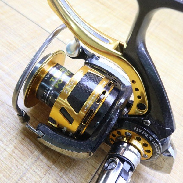ダイワ 09トーナメントISO Z 3000LBD/Z212M 未使用 DAIWA 釣り スピニングリール レバーブレーキ 尾長 グレ チヌ 磯 ソルト|tsuriking|05