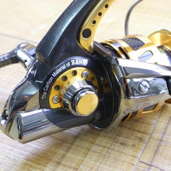 ダイワ 09トーナメントISO Z 3000LBD/Z212M 未使用 DAIWA 釣り スピニングリール レバーブレーキ 尾長 グレ チヌ 磯 ソルト|tsuriking|06