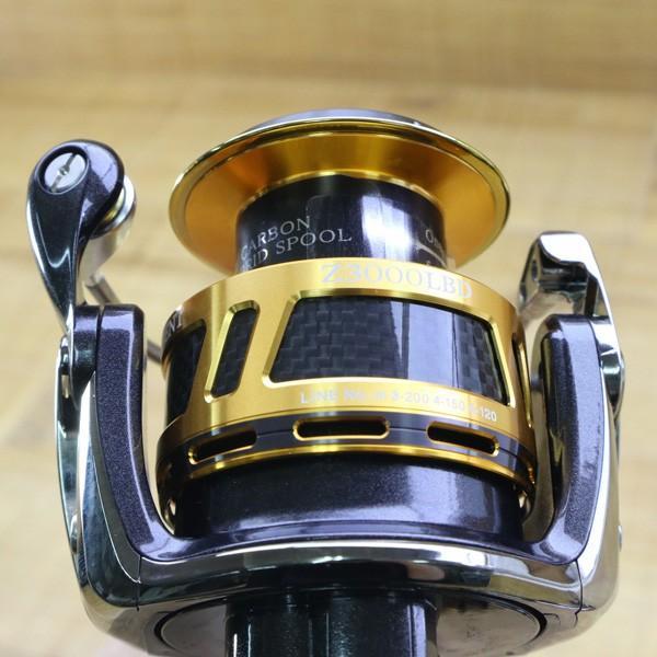 ダイワ 09トーナメントISO Z 3000LBD/Z212M 未使用 DAIWA 釣り スピニングリール レバーブレーキ 尾長 グレ チヌ 磯 ソルト|tsuriking|08