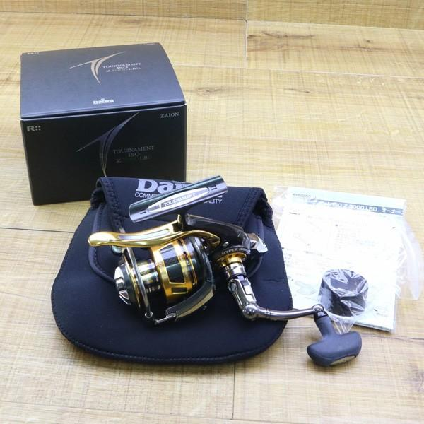 ダイワ 09トーナメントISO Z 3000LBD/Z212M 未使用 DAIWA 釣り スピニングリール レバーブレーキ 尾長 グレ チヌ 磯 ソルト|tsuriking|10