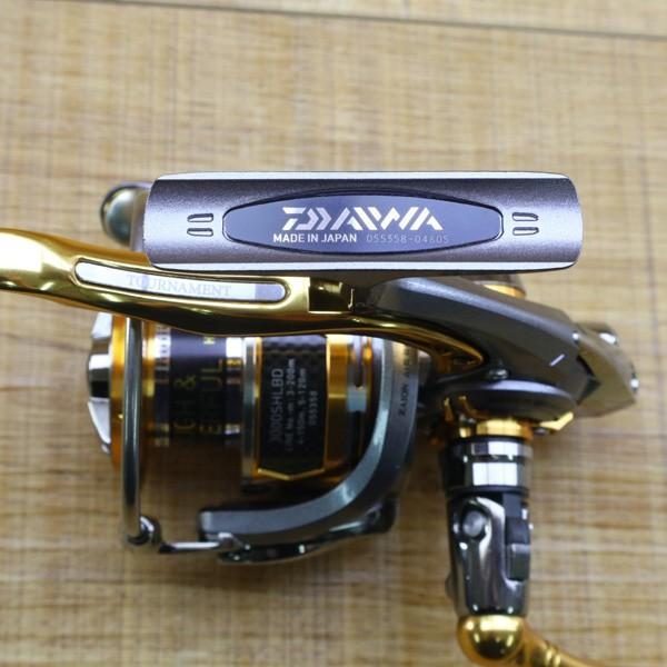 ダイワ 12トーナメントISO Z 3000SH-LBD/Z214M 未使用 DAIWA 釣り スピニングリール レバーブレーキ 尾長 グレ チヌ 磯 ソルト|tsuriking|03