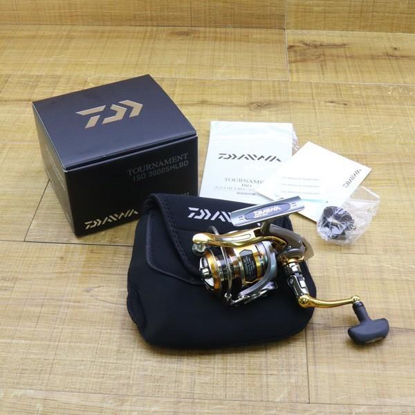 ダイワ 12トーナメントISO Z 3000SH-LBD/Z214M 未使用 DAIWA 釣り スピニングリール レバーブレーキ 尾長 グレ チヌ 磯 ソルト|tsuriking|10