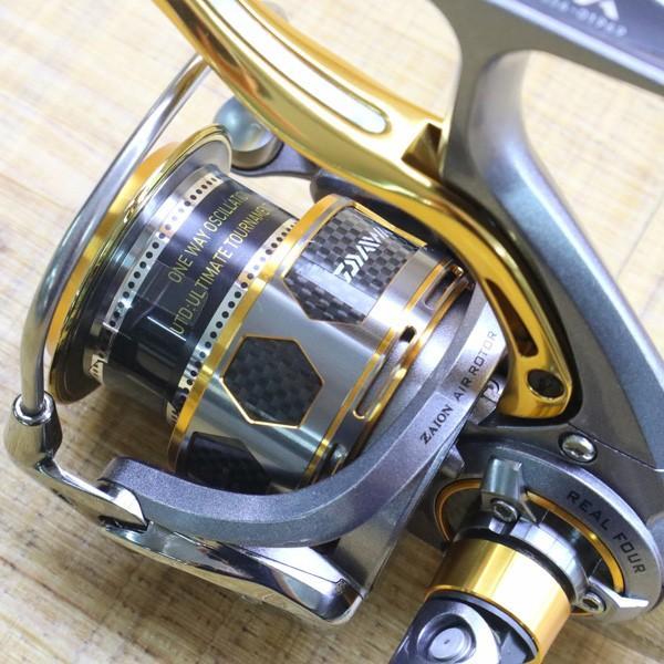 ダイワ 12トーナメントISO Z 2500H-LBD/Z215M 未使用 DAIWA 釣り スピニングリール レバーブレーキ 尾長 グレ チヌ 磯 ソルト tsuriking 05