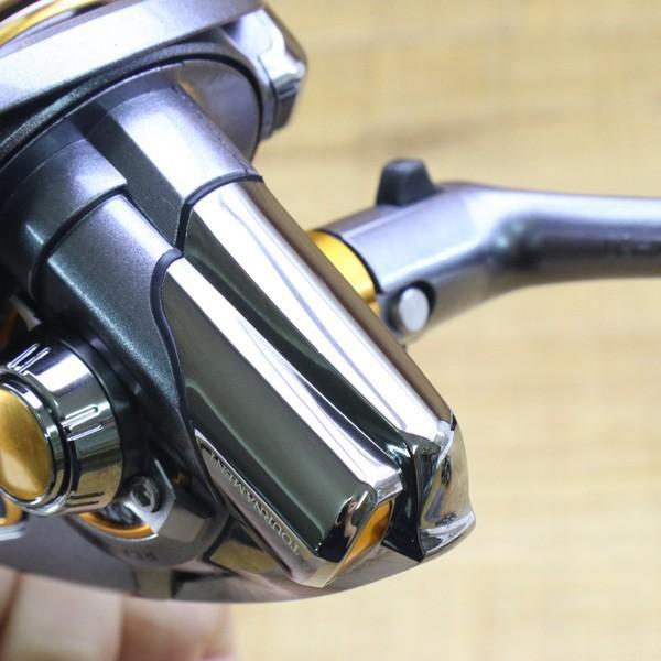 ダイワ 12トーナメントISO Z 2500H-LBD/Z215M 未使用 DAIWA 釣り スピニングリール レバーブレーキ 尾長 グレ チヌ 磯 ソルト tsuriking 07