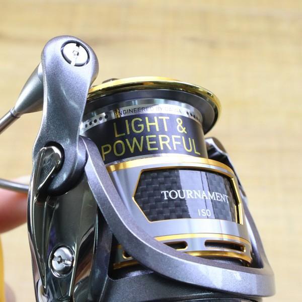 ダイワ 12トーナメントISO Z 2500H-LBD/Z215M 未使用 DAIWA 釣り スピニングリール レバーブレーキ 尾長 グレ チヌ 磯 ソルト tsuriking 08