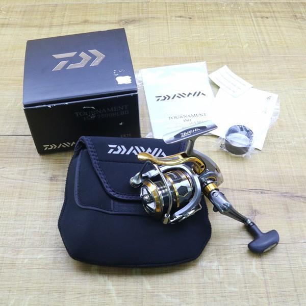 ダイワ 12トーナメントISO Z 2500H-LBD/Z215M 未使用 DAIWA 釣り スピニングリール レバーブレーキ 尾長 グレ チヌ 磯 ソルト tsuriking 10