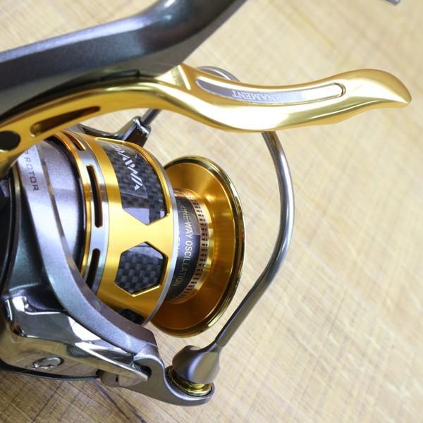 ダイワ 12トーナメントISO Z 3000H-LBD/Z217M 未使用 DAIWA 釣り スピニングリール レバーブレーキ 尾長 グレ チヌ 磯 ソルト|tsuriking|07