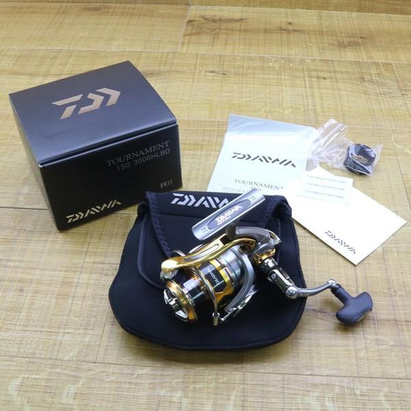 ダイワ 12トーナメントISO Z 3000H-LBD/Z217M 未使用 DAIWA 釣り スピニングリール レバーブレーキ 尾長 グレ チヌ 磯 ソルト|tsuriking|10