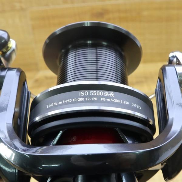 ダイワ  17トーナメントISO 5500 遠投/Z250M 未使用 DAIWA 釣り 遠投リール スピニングリール グレ 鯛 磯 波止 ソルト フィッシング tsuriking 08