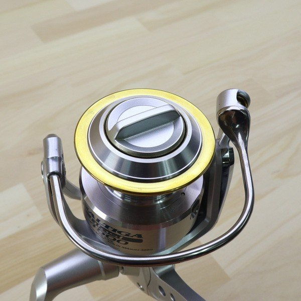 ダイワ ソルティガ ブラスト 4500/Z265M 美品 DAIWA 釣り スピニングリール ジギング キャスティング ショア オフショア 青物 ソルト|tsuriking|09
