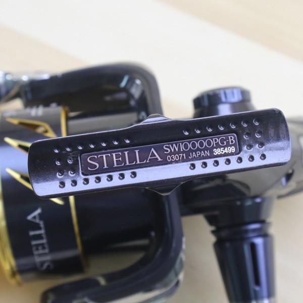 シマノ 13ステラSW 10000PG/Z538M 美品 SHIMANO 釣り スピニングリール ジギング キャスティング ショア オフショア 青物 ソルト tsuriking 03