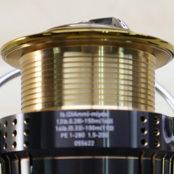 ダイワ 15イグジスト 3012H/A022M 極上美品 DAIWA 釣り スピニングリール バス シーバス ヒラメ イカ 磯 波止 淡水 ソルト|tsuriking|07