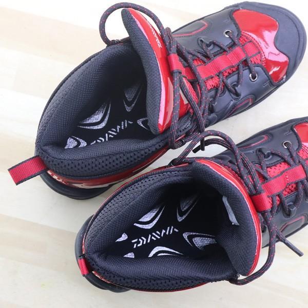 ダイワ フィッシングシューズ DS-2611 26cm/A432M 美品 DAIWA 釣り スパイク シューズ 靴 ウェーダー 磯 海 フィッシング|tsuriking|10