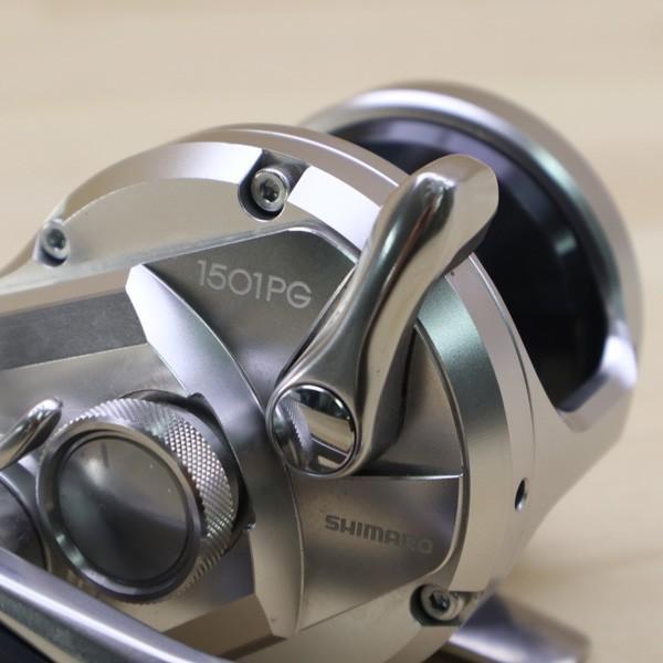 シマノ 17オシアジガー 1501PG/A442M 美品 SHIMANO 釣り ベイトリール ジギング オフショア ソルト 青物 ルアー フィッシング|tsuriking|06