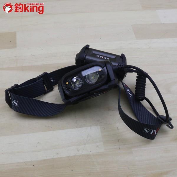 ゼクサス ヘッドライト ZX-700 ブラック LED 400ルーメン/B147S 未使用|tsuriking