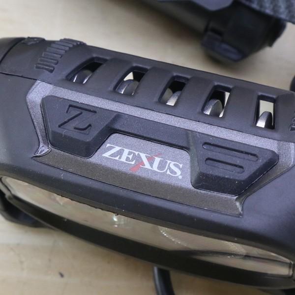 ゼクサス ヘッドライト ZX-700 ブラック LED 400ルーメン/B147S 未使用|tsuriking|05