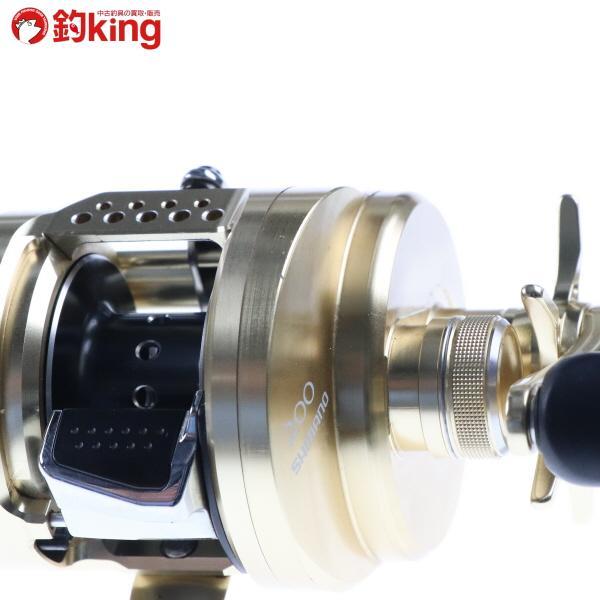 シマノ 15カルカッタコンクエスト 200/B171M 美品 SHIMANO 釣り ベイトリール バス 淡水 フレッシュ ルアー フィッシング|tsuriking|07