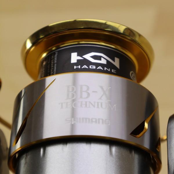 シマノ  15BB-Xテクニウム 2500DXG S/B449M 未使用 SHIMANO 釣り スピニングリール レバーブレーキ 尾長 グレ チヌ 磯 ソルト tsuriking 09