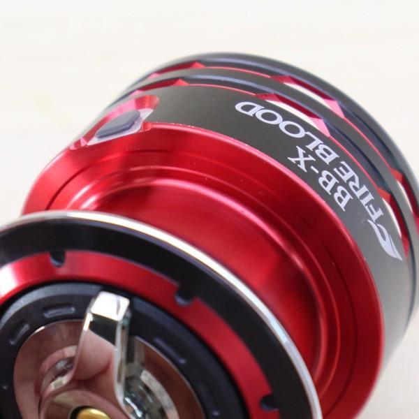 シマノ 夢屋 09BB-X ファイアブラッド 2500DA スプール/B462M 極上美品 SHIMANO 釣り 替えスプール レバーブレーキ 磯 グレ カスタムパーツ パーツ|tsuriking|06